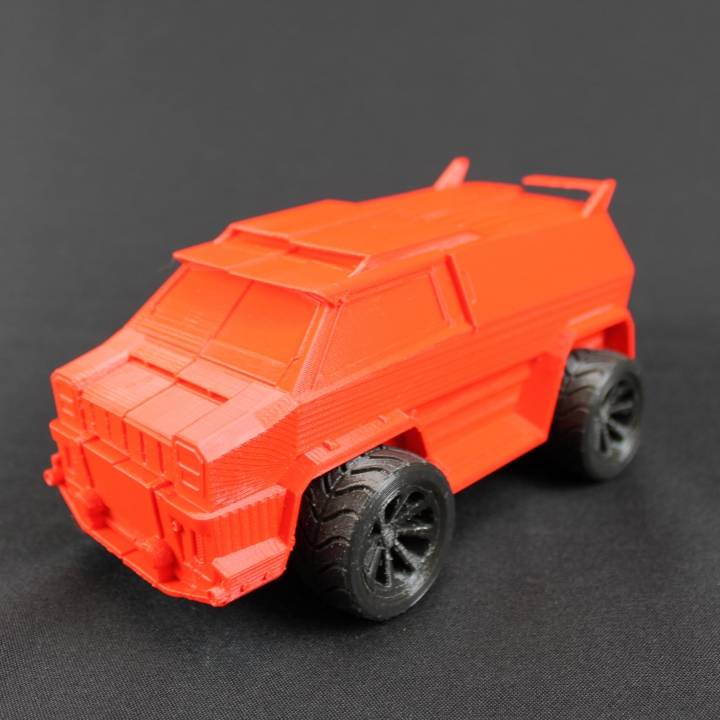 3D Printable Rocket League Car Merc by Rikesh Dhirajlal
