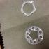 Pentagon earrings image