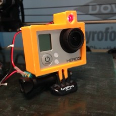 Picture of print of Laser-guided Bullet-Time GoPro rig