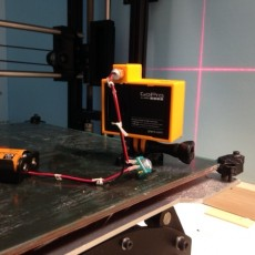 Picture of print of Laser-guided Bullet-Time GoPro rig This print has been uploaded by AMOORE