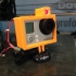 Laser-guided Bullet-Time GoPro rig print image
