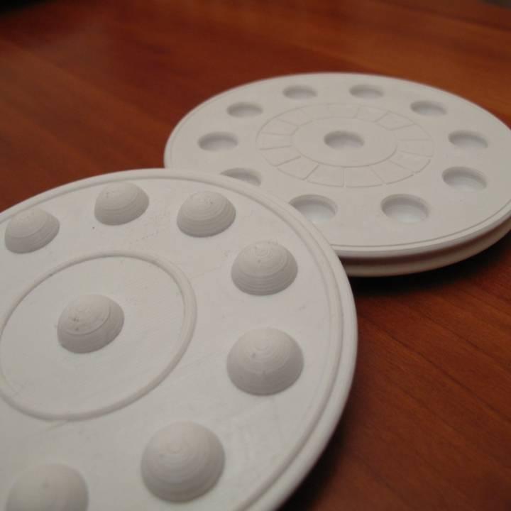 Coaster 3D stackable design