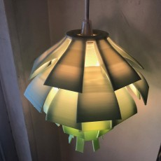 Picture of print of Artichoke Lamp Shade