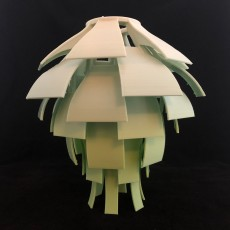 Picture of print of Artichoke Lamp Shade 这个打印已上传 John Fitzpatrick