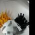 Artichoke Lamp Shade print image