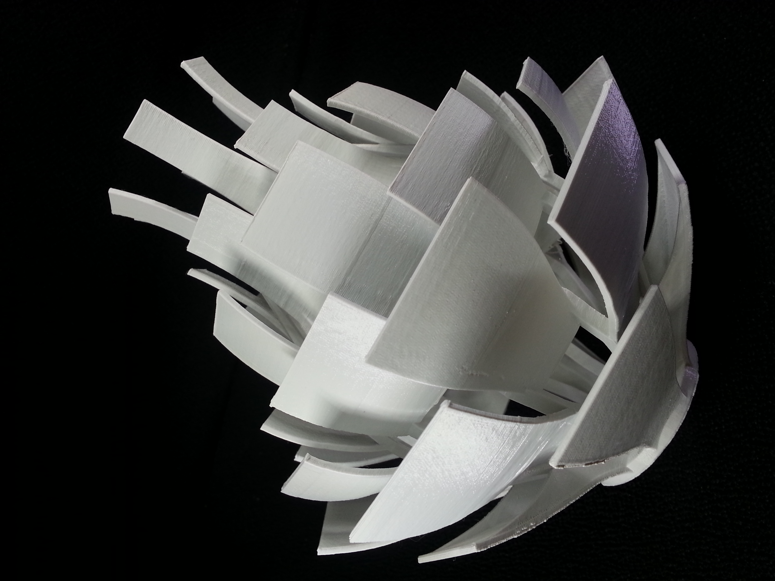 3d printable artichoke lamp shade by gcreate picture of print of artichoke lamp shade this print has been uploaded by peter song aloadofball Image collections