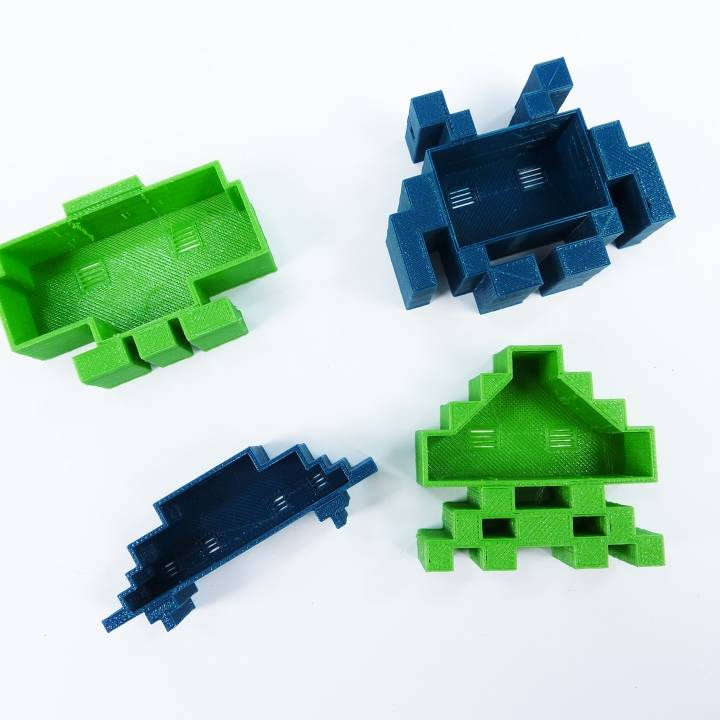 Space Invader Family
