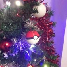 Christmas Pokeball