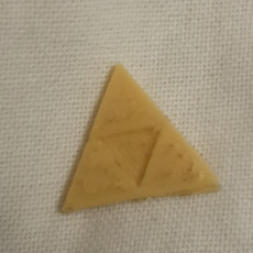 Picture of print of Zelda  Triforce Christmas