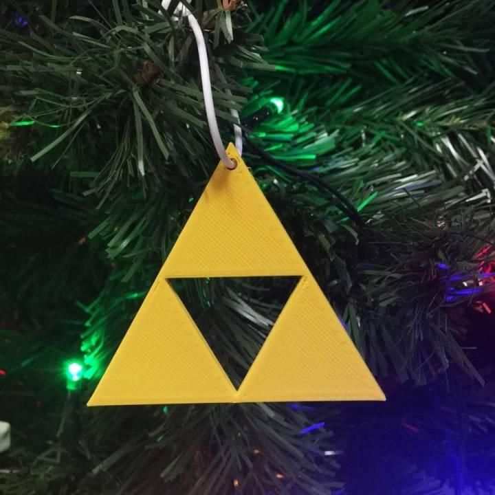 Download Zelda Triforce Christmas von Simone Fontana