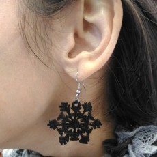 Picture of print of Snowflake Earings