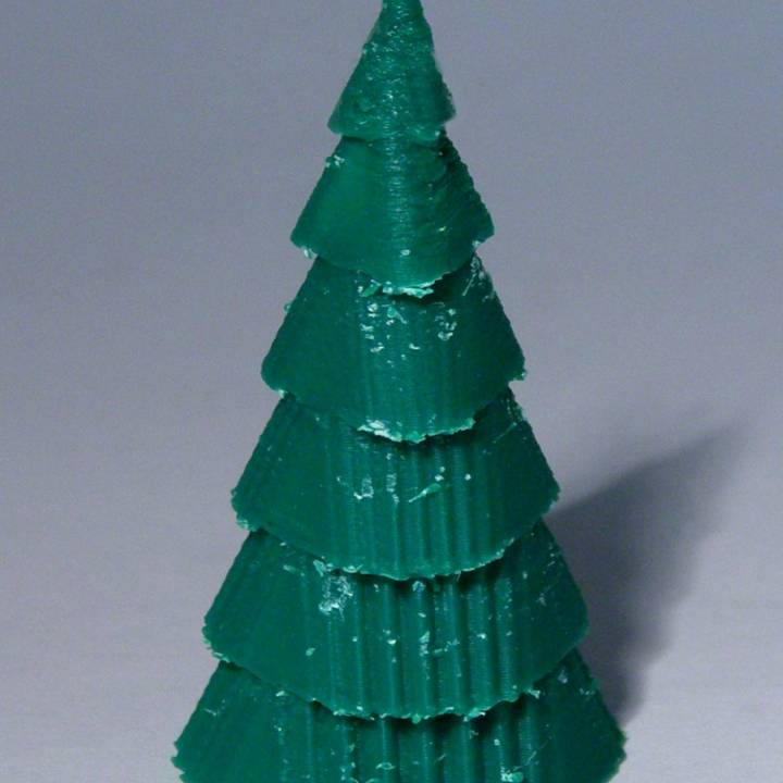 Layered Xmas Tree