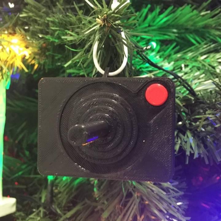 Retro Joystick Christmas