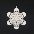 First Order Stormtrooper Flake Christmas Decoration image