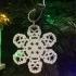 Chewbacca Flake christmas decoration image