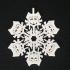 Ahsoka Tano Flake Christmas Decoration image