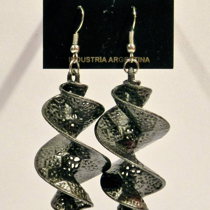 Da Vinci Parametric Earrings 10160