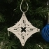 A-Wing Flake Christmas Decoration image
