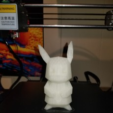 Picture of print of Pikachu
