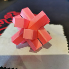 Picture of print of Wood puzzle star