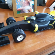 Picture of print of OpenRC 1:10 Formula 1 car