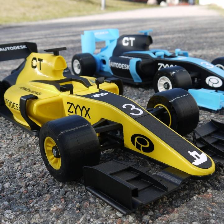 OpenRC 1:10 Formula 1 car