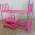 Multi purpose Bunk bed for dolls image