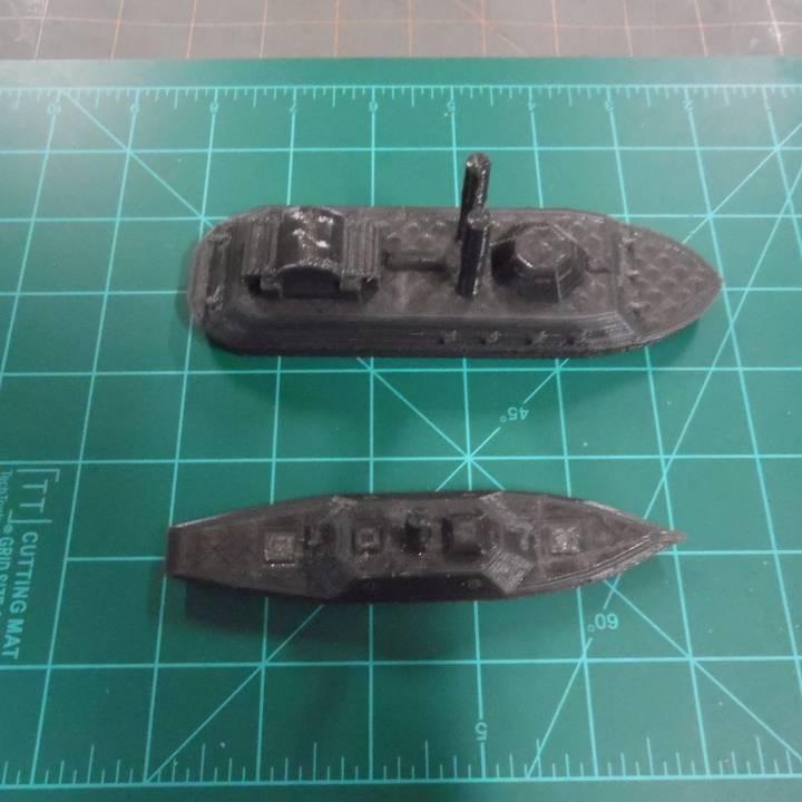 USS Cairo and CSS Neuse ironclads