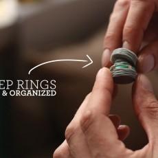 Traveling Ring Holder