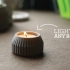 Striped Candle Holder image