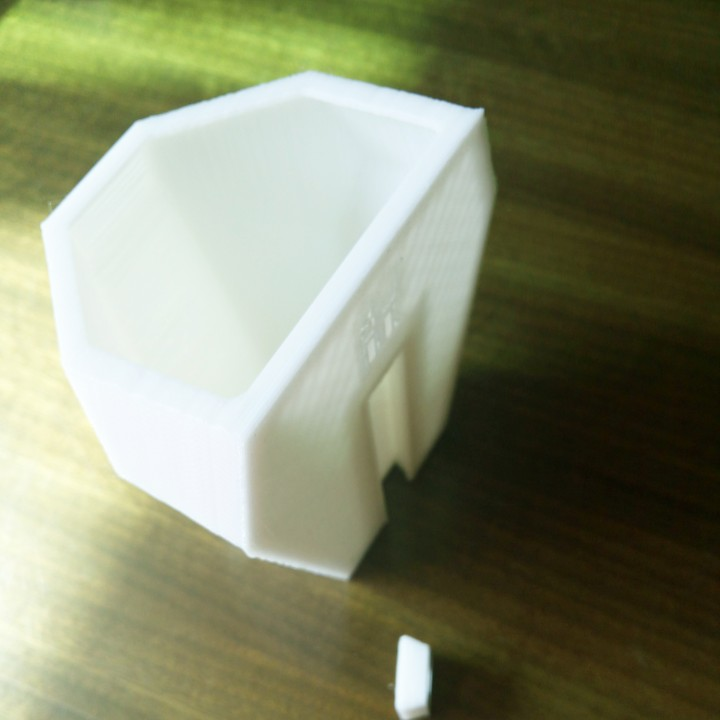 Picture of print of Faceted Wall Planter This print has been uploaded by FORREST.LI