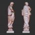 Asclepius and Hippolytus at The Boboli Gardens, Italy image