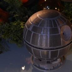 Deathstar christmas ornament