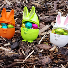 Picture of print of Easter eggs
