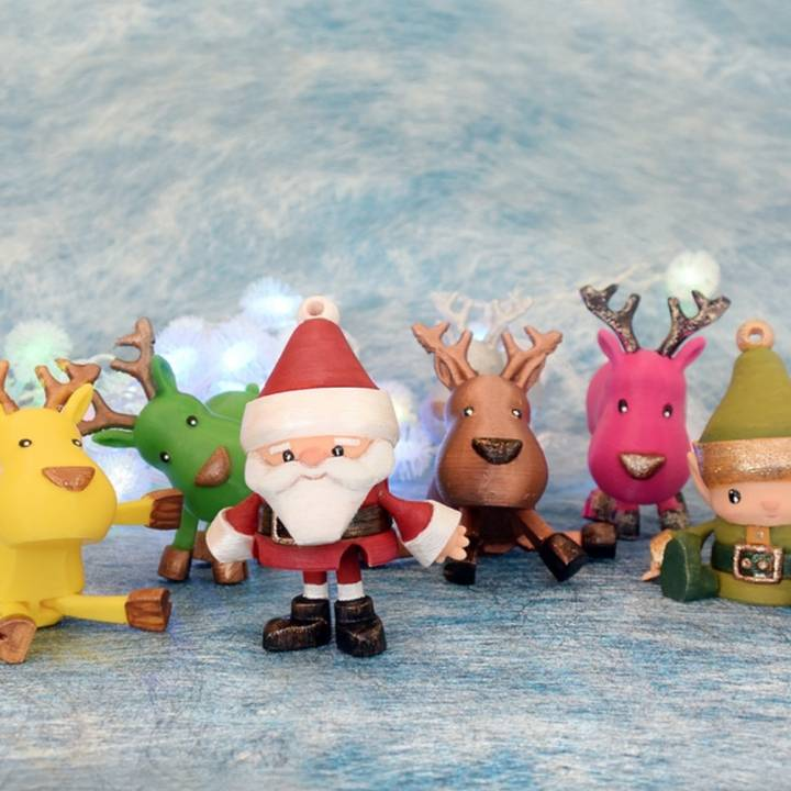 Articulated Christmas Toys
