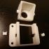 Adjustable parking camera support image