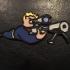 Fallout Perk Pin print image