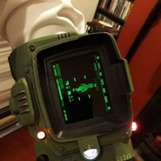 Picture of print of Fallout 4 - Pipboy 3000 MkIV This print has been uploaded by Rob 'Feyd' Grundy