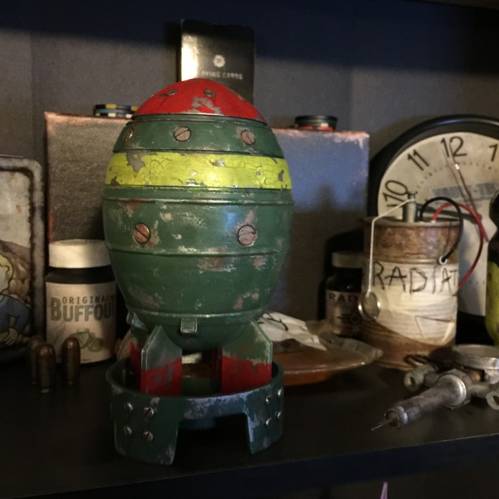 Picture of print of Fallout 4 - Mini Nuke This print has been uploaded by Raleigh Shade