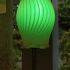Twisted Lamp Shade print image