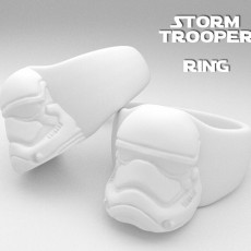 Picture of print of Storm Trooper Ring