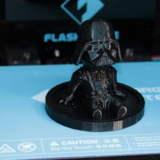 Picture of print of Darth Vader - Chibi