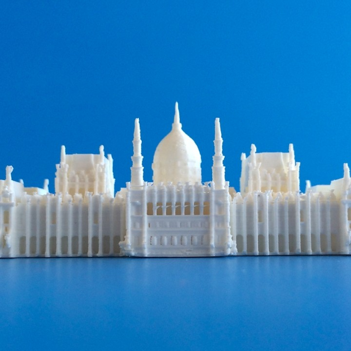 Picture of print of Hungarian Parliament This print has been uploaded by MiniWorld