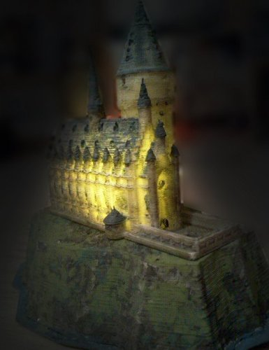 Hogwarts Castle lamp
