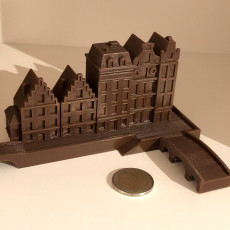 Picture of print of Dutch Architecture