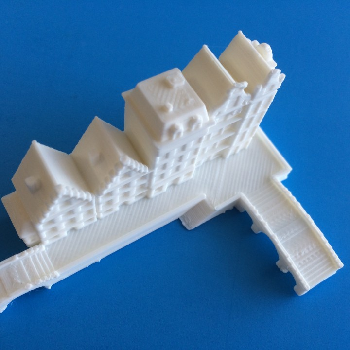 Picture of print of Dutch Architecture This print has been uploaded by MiniWorld