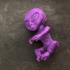 Alien Baby Inside A Jar print image