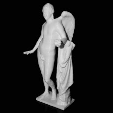 Eros Borghese at The Louvre, Paris