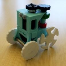 GearBot: A Gear Driven Robot