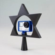 GoPro Star Christmas tree Topper